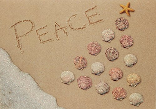 - Peace, Shell Pyramid, Nautical Boxed Christmas Cards, by Cape Shore