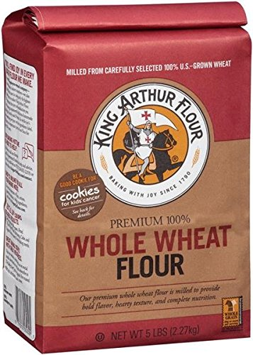 King Arthur Whole Wheat Flour Paper Bag, 2 lb