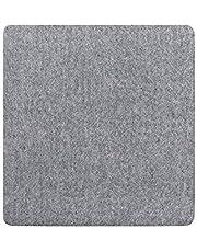 Adoture stryckkudde i ulltryck, professionell strykning bärbar strykjärn värmepressmatta för hem och kommersiellt strykning (grå) 10*10in