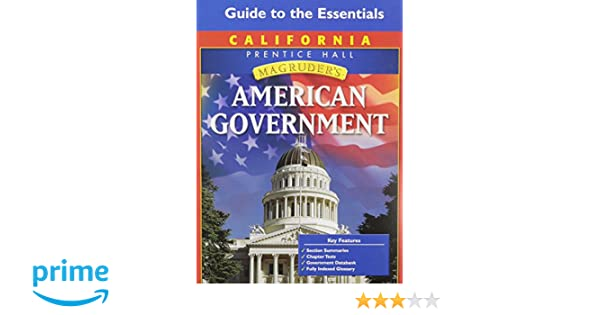 Amazon magruders american government california edition amazon magruders american government california edition guide to the essentials 9780132513616 mcclenaghan books fandeluxe Image collections