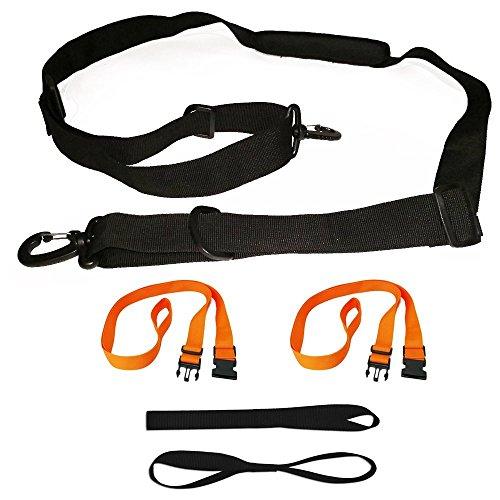 RORAIMA Ajustable Shoulder Straps Tie Down Straps Handle Straps Combo Set