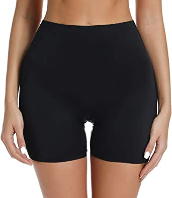 Slip Shorts for Under Dresses Women Seamless Boyshorts Panties Anti Chafing Underwear Shorts