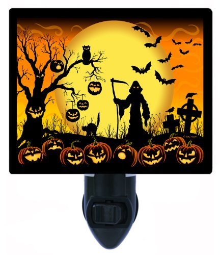 Halloween Night Light - Beware Take