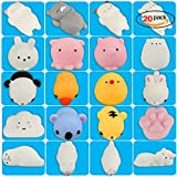 RUNFON Squishy Squeeze Toy  Relief Stress Balls Mini Squishies Slow Rising Animals Hand Toys Cute Kawaii and Soft for Adults, Kids, Girls, Boys, Men and Women