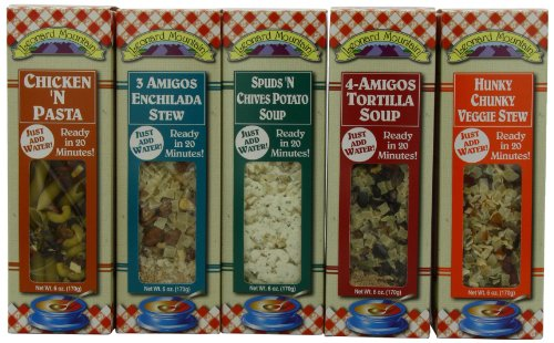 - Leonard Mountain Souper Happy Holiday, 5-Flavor Variety Pack