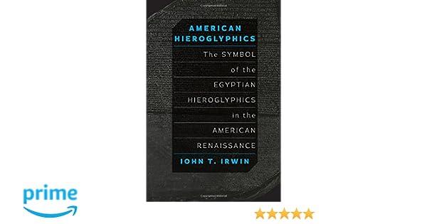 Amazon American Hieroglyphics The Symbol Of The Egyptian