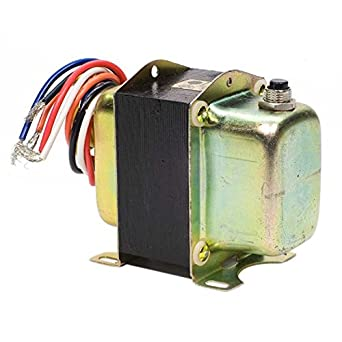 Honeywell AT150B1237 Foot Mounted 120//208//240 Vac transformer with 9 Lead Wires
