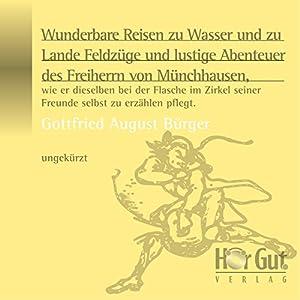 Münchhausens Abenteuer Hörbuch