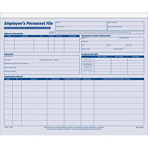 (Adams 9287ABF Employee Personal File, 11-3/4
