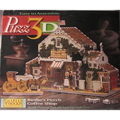 Puzz 3D Birdie\'s Perch Coffee Shop: Toys & Games [5Bkhe0306885]