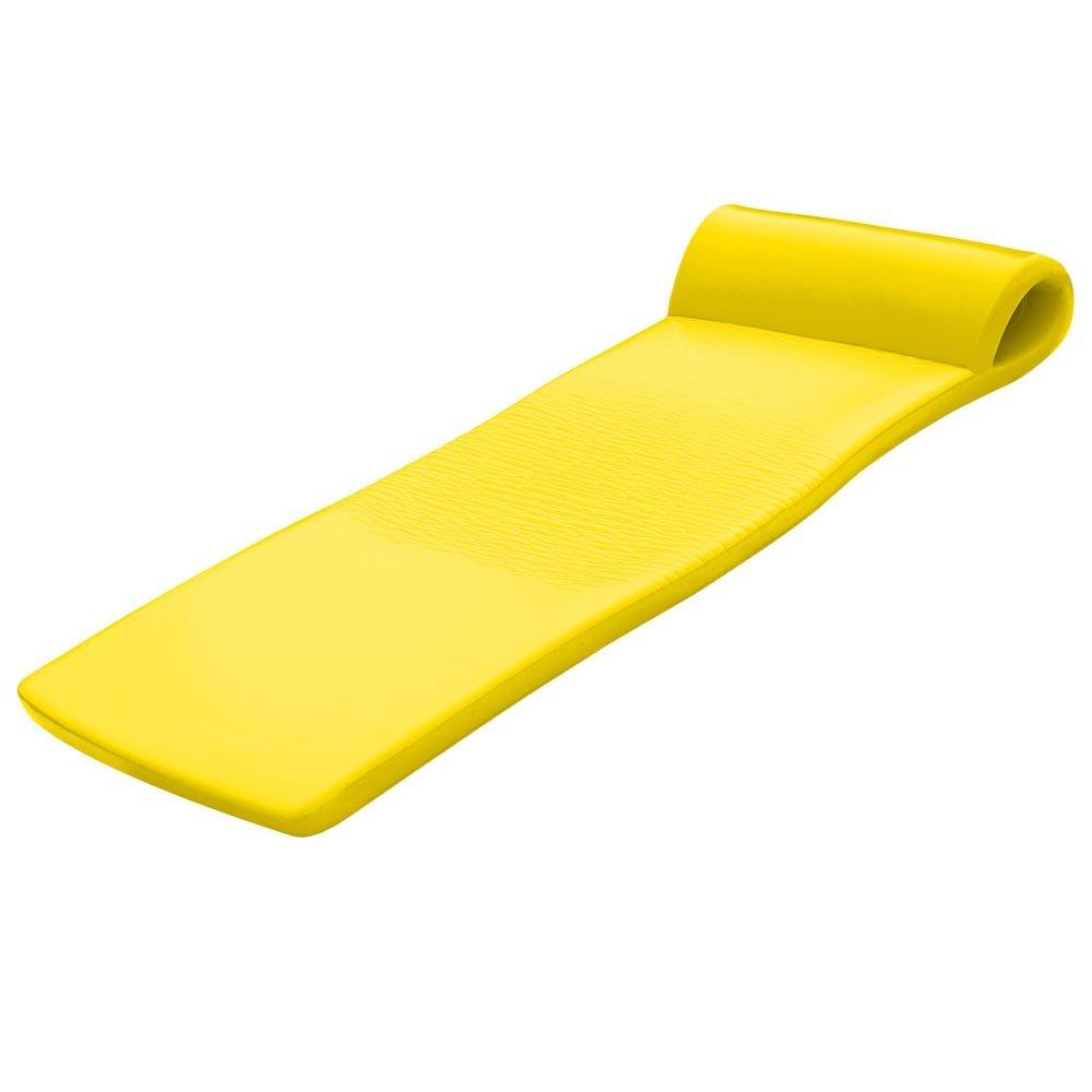 Yellow Pool Mate XX-Large Foam Mattress Swimming Pool Float