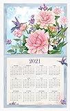 Nature's Palette 2021 Calendar Towel