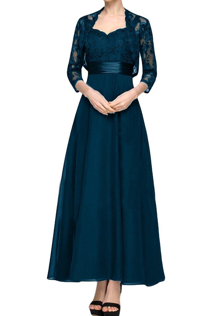 (ウィーン ブライド) Vienna Bride ロングドレス ママドレスドレス 結婚式母親ドレス 2点セット ボレロ付きカラー紺色 エレガント 披露宴 パーティー B01M6U9CL4 11|インクブルー インクブルー 11