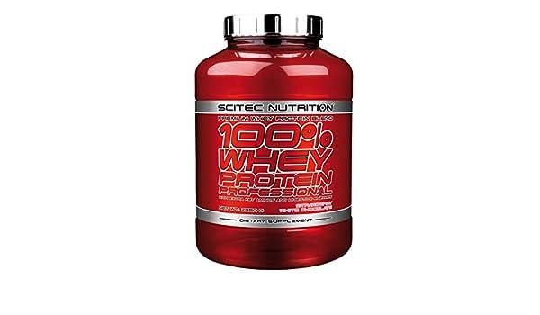 Scitec Nutrition 100% Whey Protein Professional 2350g 1 paquete de proteína de suero de leche en polvo en polvo (Chocolate Peanut Butter)