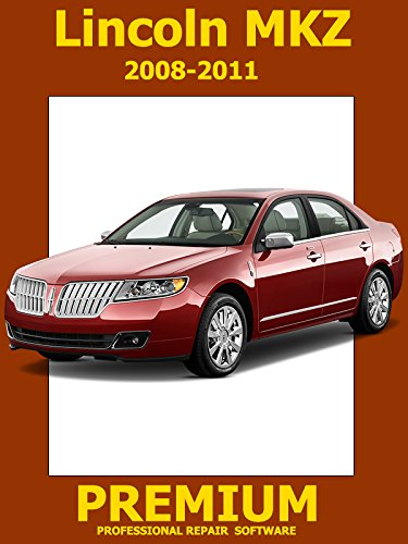 Lincoln MKZ Repair Software (DVD) 2008 2009 2010 2011 ()