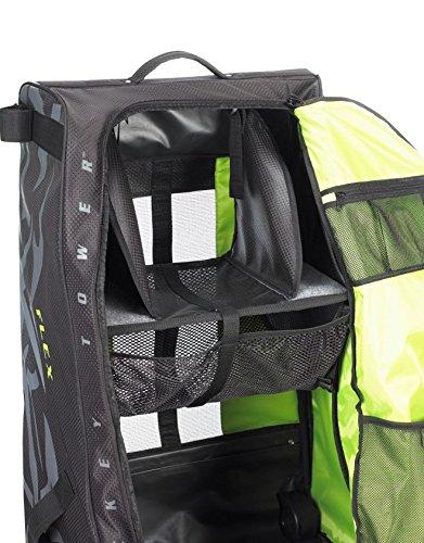 Grit Inc. Flex Hockey Tower Medium Equipment Bag 33-Inch, Black FLX1-033-B by Grit (Image #6)