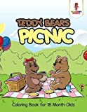 Best Books For 18 Month Olds - Teddy Bears Picnic : Coloring Book for 18 Review