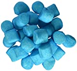 Sugared Marshmallows Blue 1 Pounds 50 Pieces