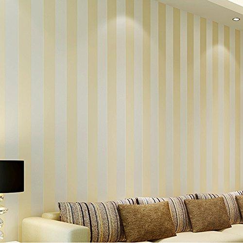 QIHANG European Modern Minimalist Country Luxury Stripe Wallpaper Roll for Living Room Bedroom Tv Backdrop Wall Beige Color by QIHANG (Image #5)