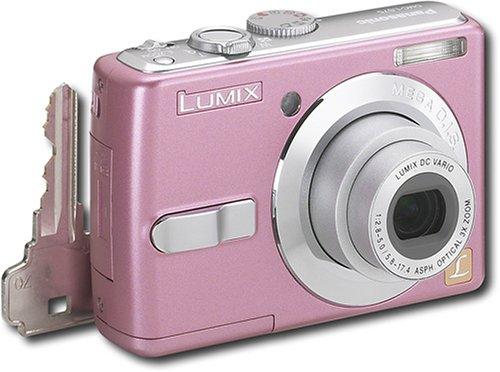 Panasonic Lumix Cameras Megapixels 7 - Panasonic DMC-LS75P Lumix Compact 7-Megapixel Digital Camera - Pink