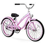 Firmstrong Bella Classic Girl's Single Speed Cruiser Bicycle, 20-Inch, Pink For Sale