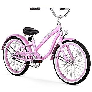 Firmstrong Girl's Bella Classic 20 Beach Cruiser Bike