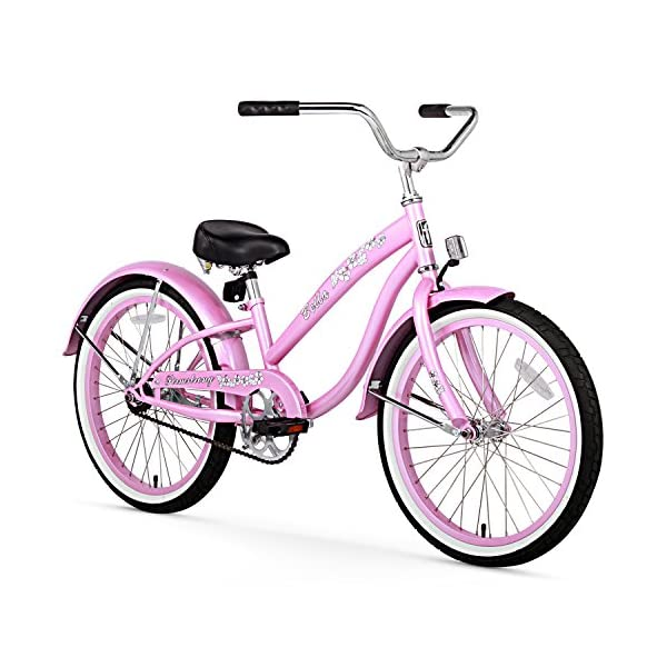 Firmstrong Girl's Bella Classic 20 Beach Cruiser Bike