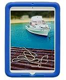 Bobj Rugged Case for iPad Mini, iPad Mini 2, iPad Mini 3, iPad Mini Retina - BobjGear Custom Fit - Patented Venting - Sound Amplification - BobjBounces Kid Friendly (Batfish Blue)