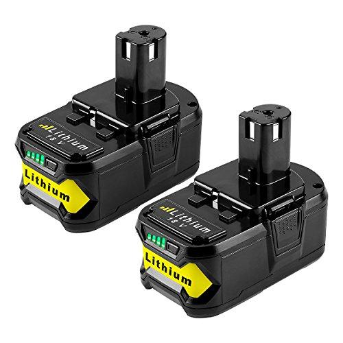 NEW For 18V Lithium Battery Ryobi ONE Plus P102 P103 P104 P108 P105 P107 5.0Ah