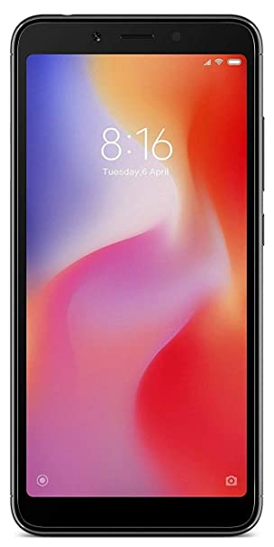 Mi Redmi 6A (Black, 2GB RAM, 32GB Storage)