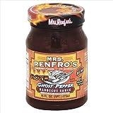 MRS RENFRO SAUCE BBQ GHOST PEPPER-16 OZ -Pack of 6
