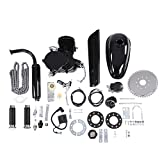 80CC Petrol Gas Motor Bicycle Engine Complete Kit Motorized Bike 2-Stroke