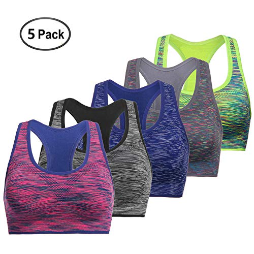 TOBWIZU Women Racerback Sports Bras -Removable Padded for sale  Delivered anywhere in USA