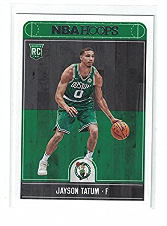 purchase cheap 82543 d9e3f 2017 NBA Hoops Jayson Tatum Rookie Card at Amazon's Sports ...