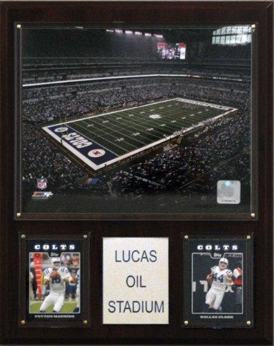 Indianapolis Colts Lucas Oil Stadium (NFL Lucas Oil Stadium Plaque)