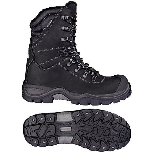 Toe Guard TG8042043 Alaska Chaussures de sécurité S3 Taille 43 Noir
