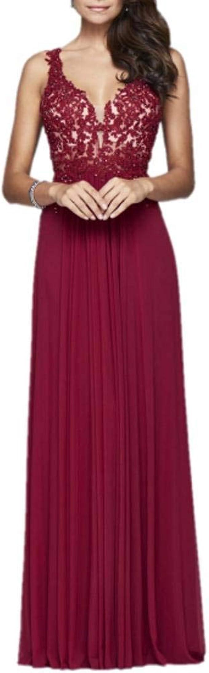Royaldress Dunkel Rot Wunderschon Traeger Kleider Abendkleider