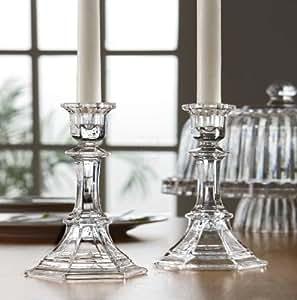 Amazon.com: Fifth Avenue Crystal Newport Candle Holder, 5 ...