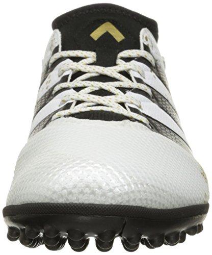 adidas Performance Herren Ace 16.3 Primemesh TF Fußballschuh Weiß / Metallic Gold / Schwarz