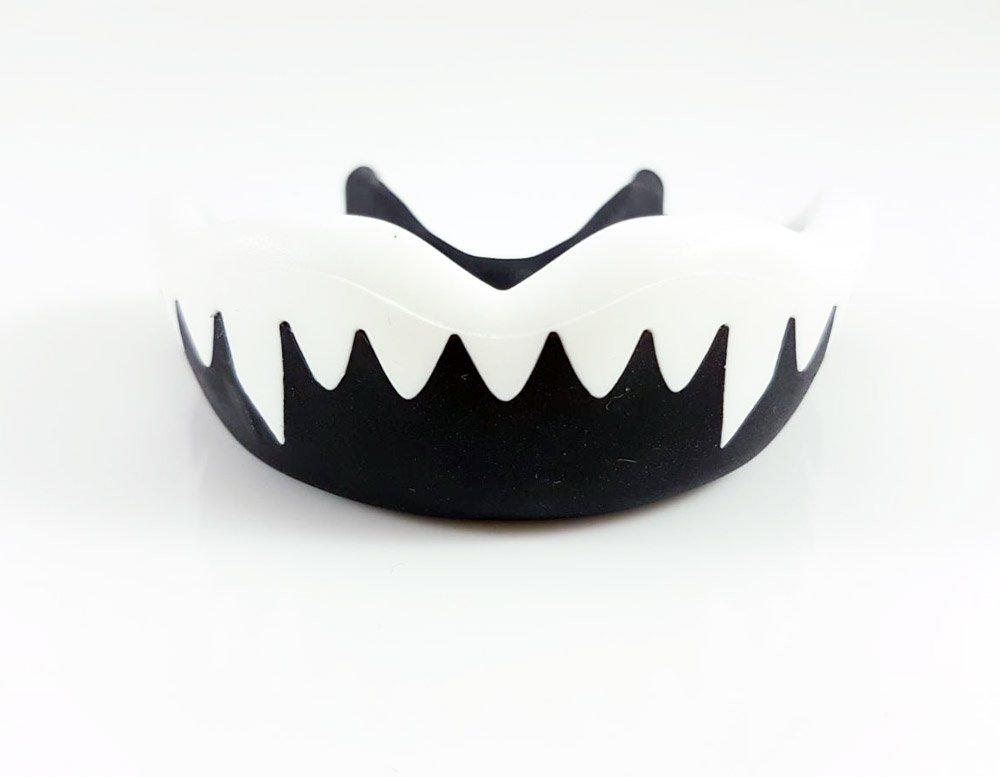 Boxing Mouth Guard Gum Shield Teeth Protector 'Shark' MMA Boxing Martial Arts Rugby Contact Sports