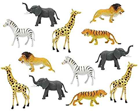 Boley 12pc Jumbo Safari Animals - 9