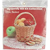 Commonwealth Basket Burgundy Hill Basket Kits, Apple Basket 6-Inch by 6-Inch by, 9-Inch