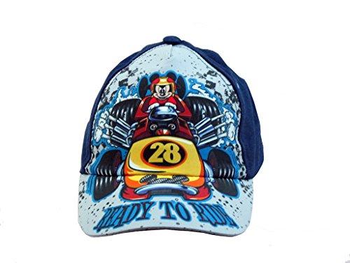 Disney Mickey Mouse 28 Navy Baseball Cap - Boys Toddler