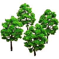 Model Baum Zug Set Plastik Stamm Landschaft HO N - 10stück