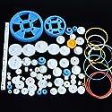 プラスチック製のギアモーターギアギアボックスパッケージロボットアクセサリキットの80種類の商品画像