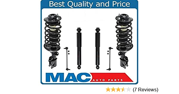 Mac Auto Parts 157465 REAR Complete Strut /& Coil Spring Assemblys Sway Bar Fits For Acura TSX 04-084pc