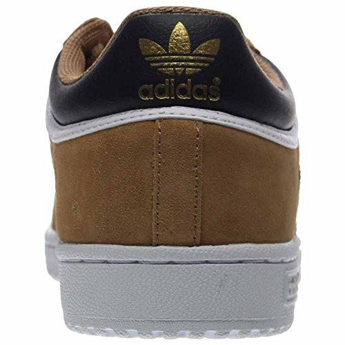 Adidas Originals Mens Top Ten Lo Moda Sneaker Cartone / Nero / Bianco