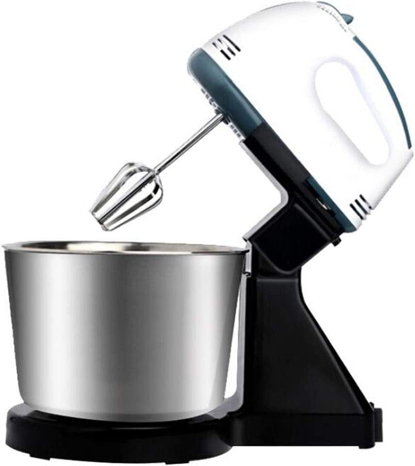 FACAI Electric Food Mixers with Bowls,Electric Hand Blender 7 Speed Control Button with Stainless Steel Bowl 1.7L for Home Baking Cream Pastry Making