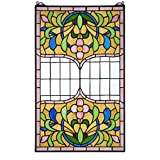 Stained Glass Panel - Eaton Place Stained Glass Window Hangings - Window Treatments