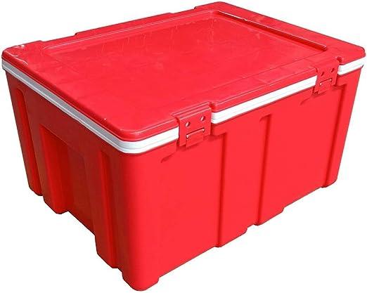 ZLSANVD Caja del refrigerador Nevera portátil Grande portátil 60Litre Fresco de la Caja/Bolsa de frío Playa Que acampan Comida for Llevar de Picnic aislantes for Alimentos y Frigorífico for Acampar: Amazon.es: Hogar